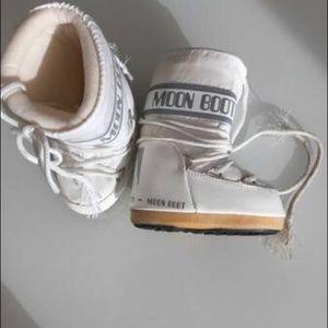 Moon Boot - white - toddler